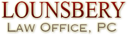 Logo of Lounsbery Law Office, PC